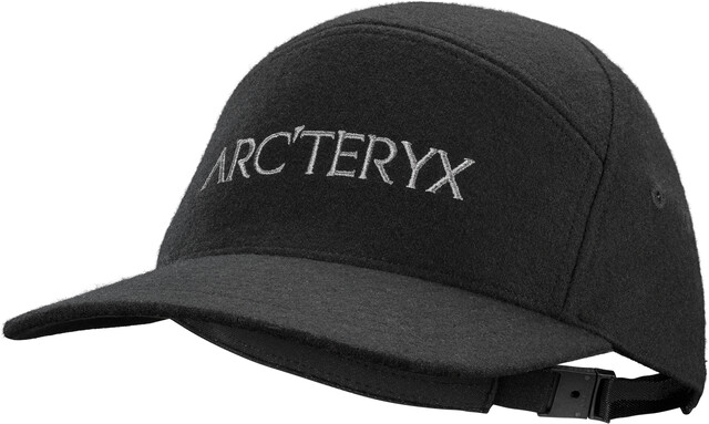Arc'teryx 7 Panel Wool Ball Cap black heather